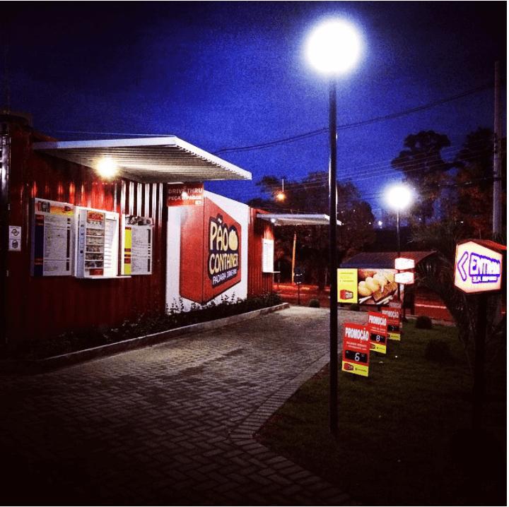 Pão Container – Padaria Drive – Thru