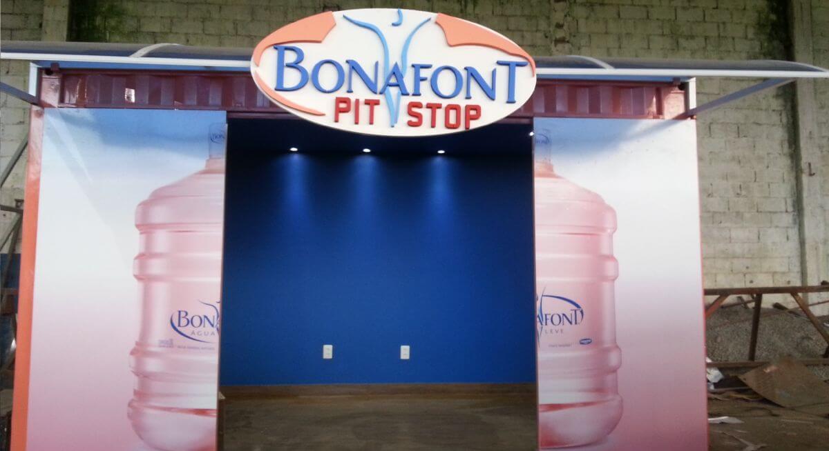 Container Pit Stop Bonafont