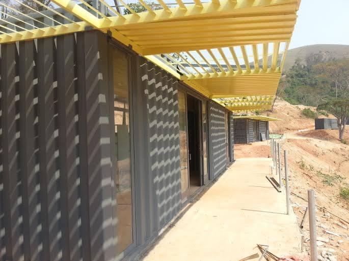 Hotel Fazenda Container ( Em construção)