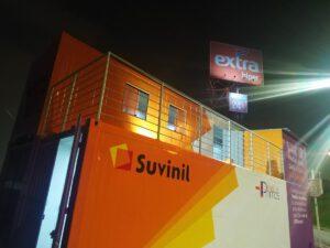 Lojas Container Projeto Suvinil
