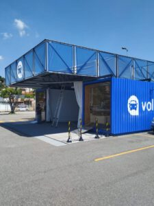 Container Loja Venda de Veículos