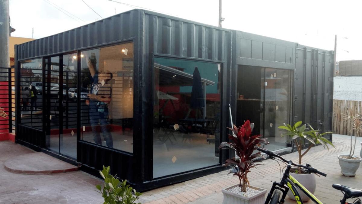 Container Hamburgueria / Restaurante 3 unidades de 20 pés HC – AUS BURGUER